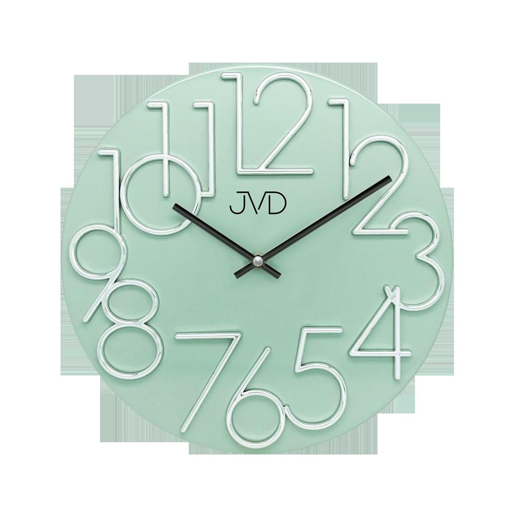 Hodiny JVD zelené HT23.6