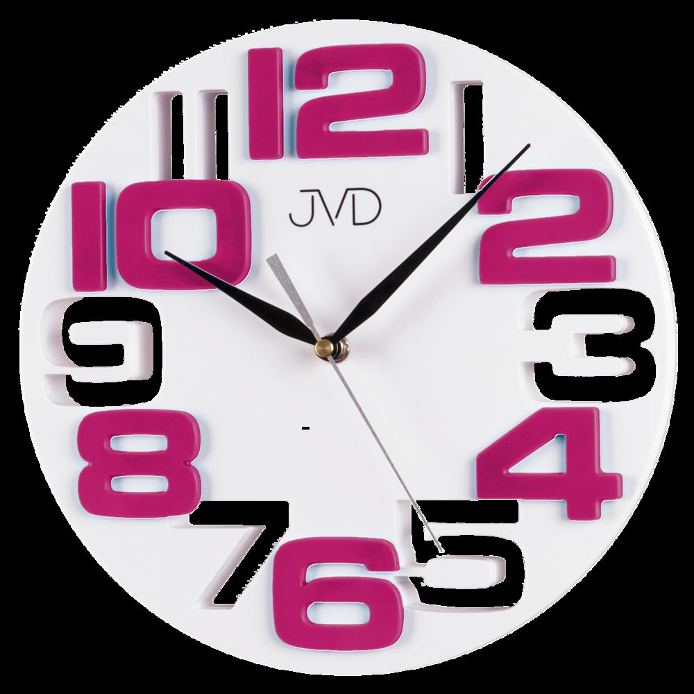 Nástěnné hodiny JVD H107.7