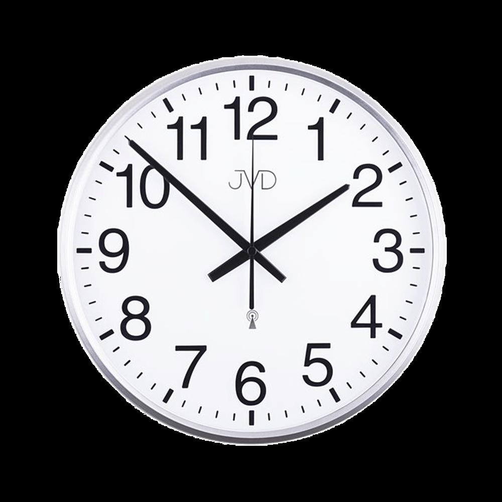 Rádiem řízené nástěnné hodiny JVD RH684.1