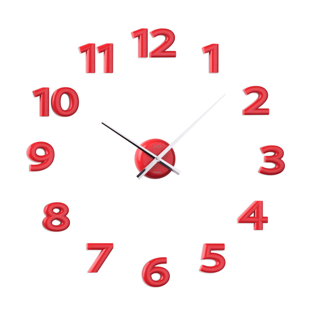 Nástěnné nalepovací hodiny JVD HB12.3