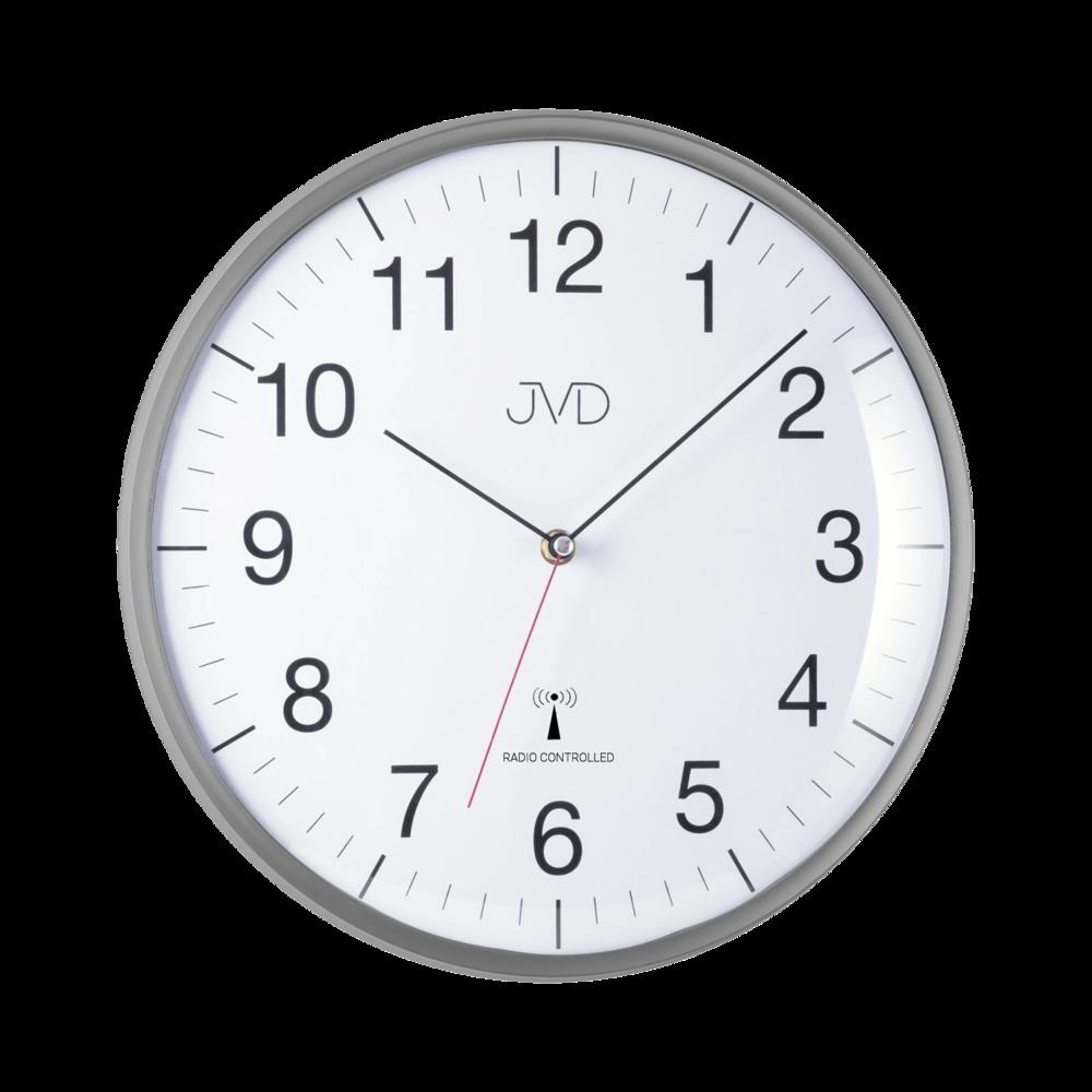 Rádiem řízene hodiny - šedé RH16.2