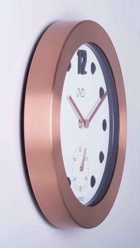 Designové kovové hodiny JVD -Architect- HC07.3