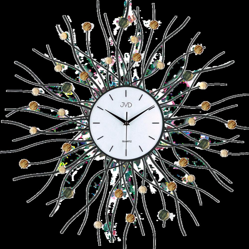 JVD Paprskovité designové velké nástěnné hodiny JVD design HJ02