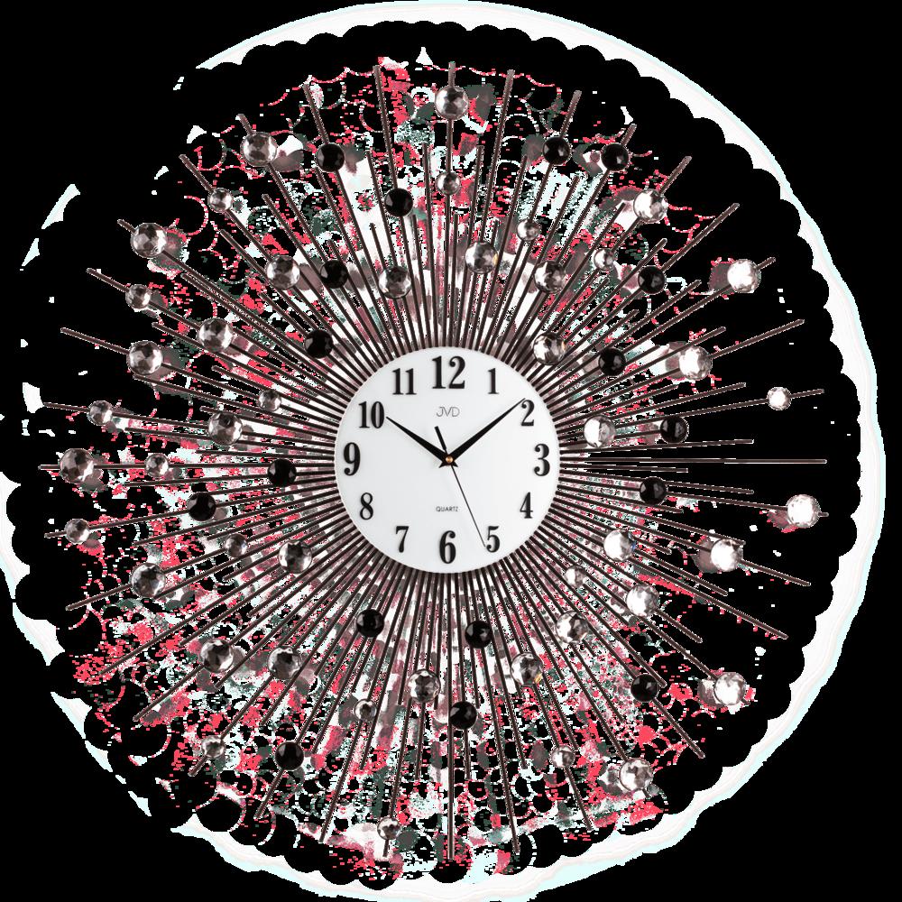JVD Paprskovité designové obrovské nástěnné hodiny JVD design HJ21