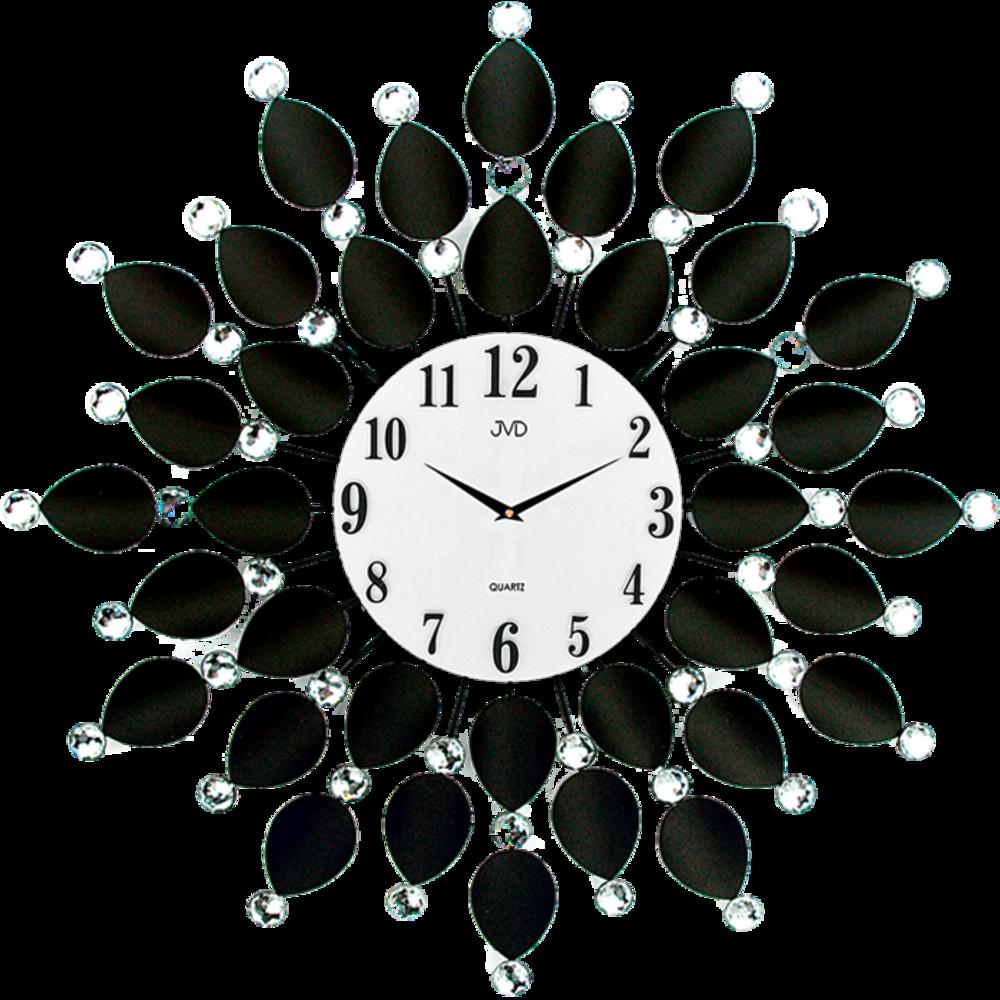 JVD Paprskovité designové velké nástěnné hodiny JVD HJ76