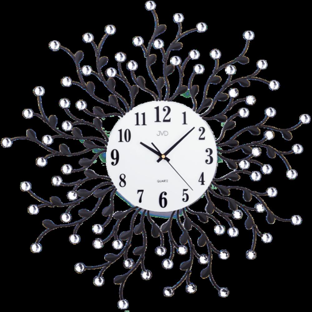 JVD Paprskovité designové velké nástěnné hodiny JVD HJ78