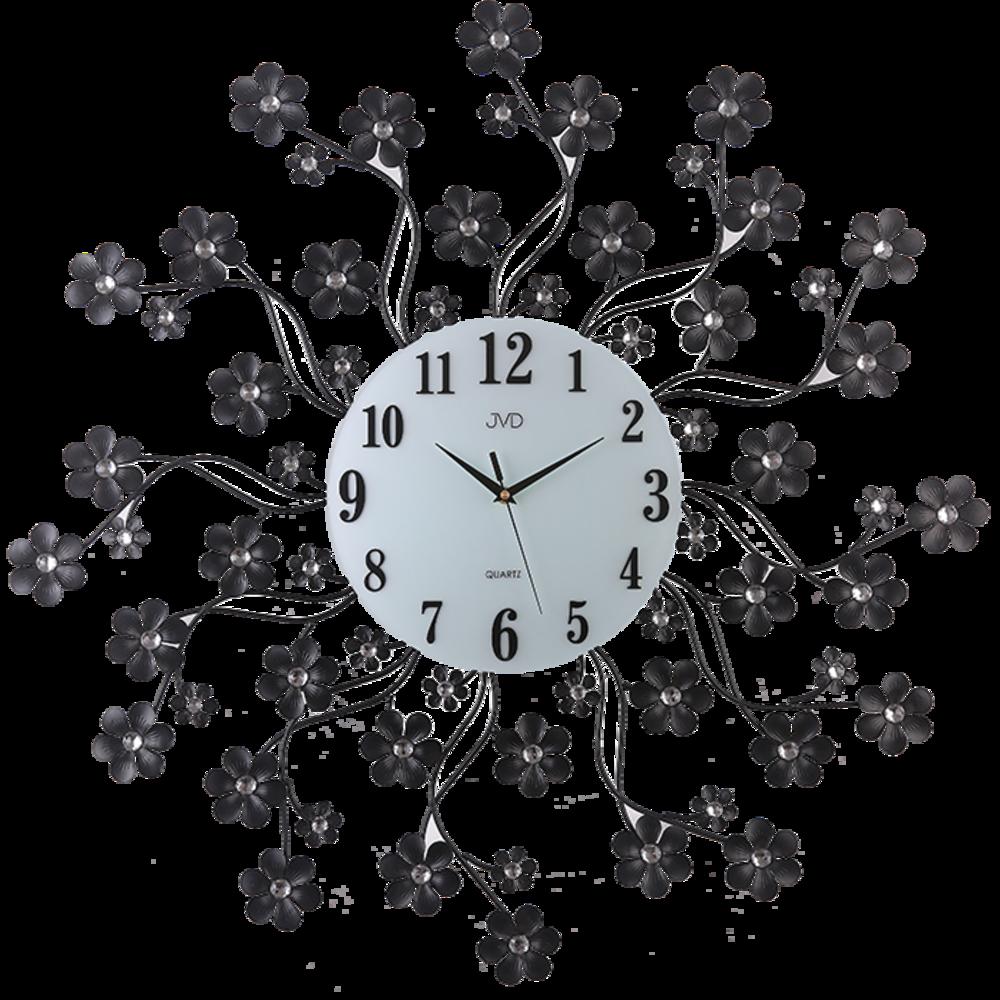 JVD Paprskovité designové velké nástěnné hodiny JVD HJ85