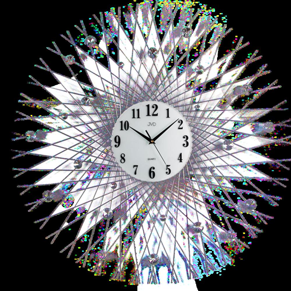 JVD Paprskovité designové velké nástěnné hodiny design JVD HJ66
