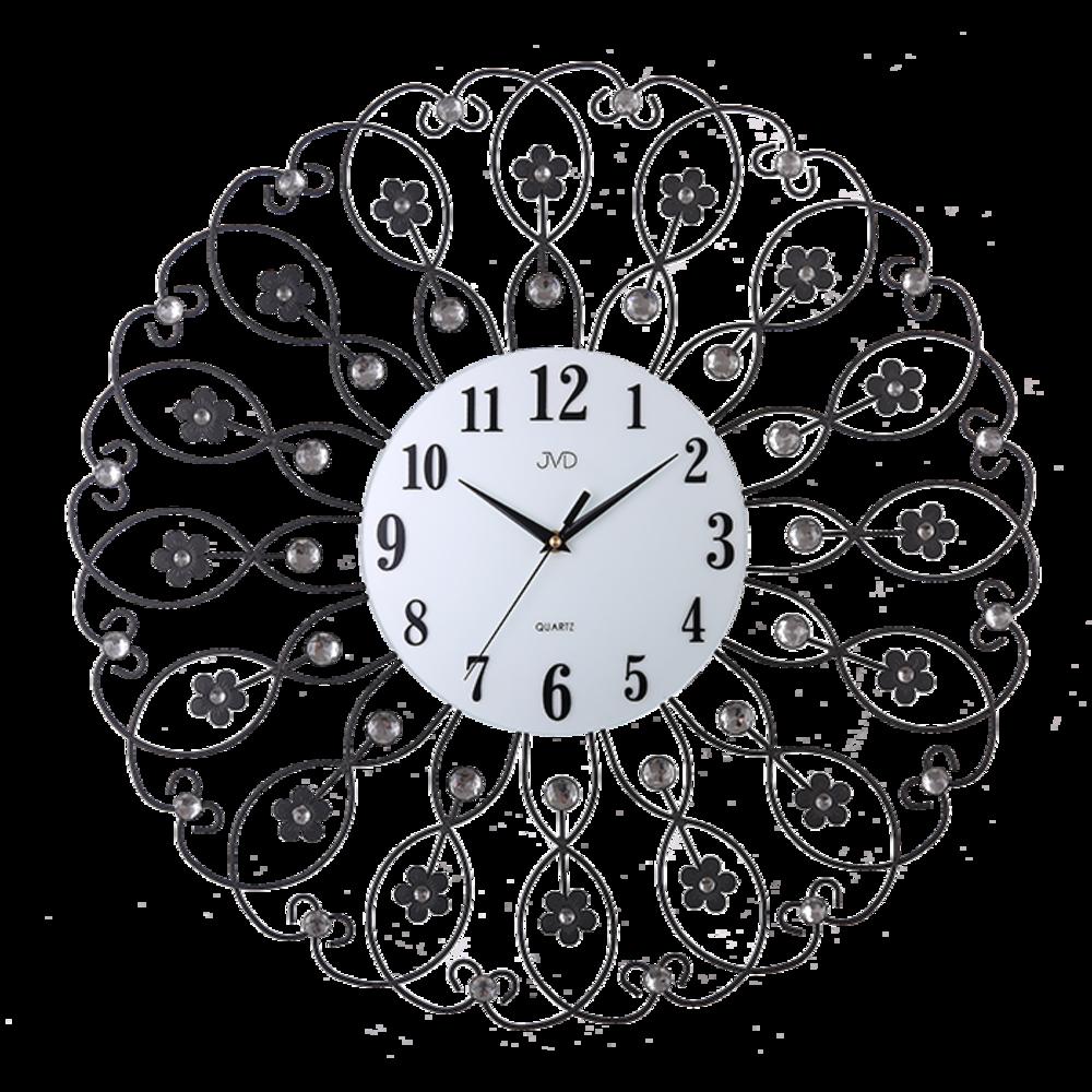 JVD Paprskovité designové velké nástěnné hodiny JVD HJ86