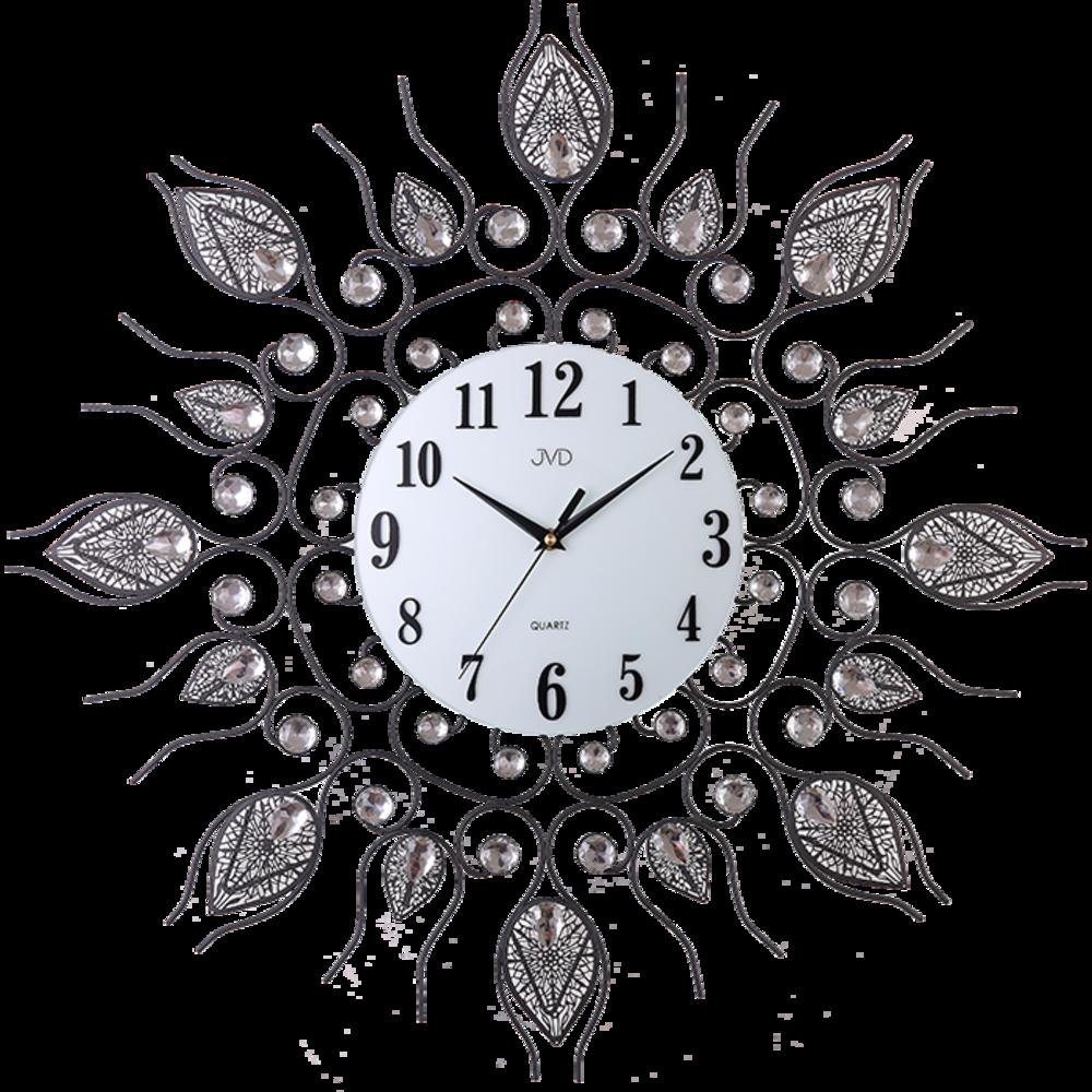 JVD Paprskovité designové velké nástěnné hodiny JVD HJ91