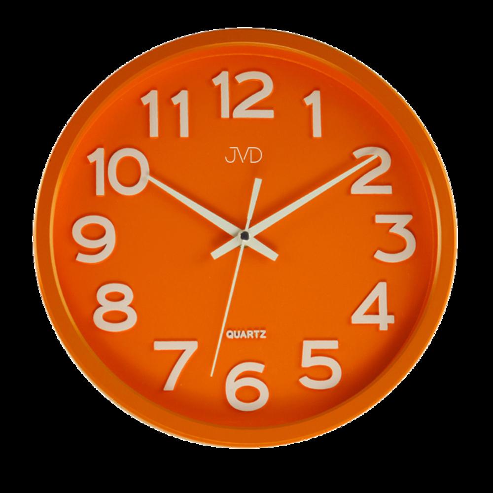 Hodiny JVD oranžové HX2413.6