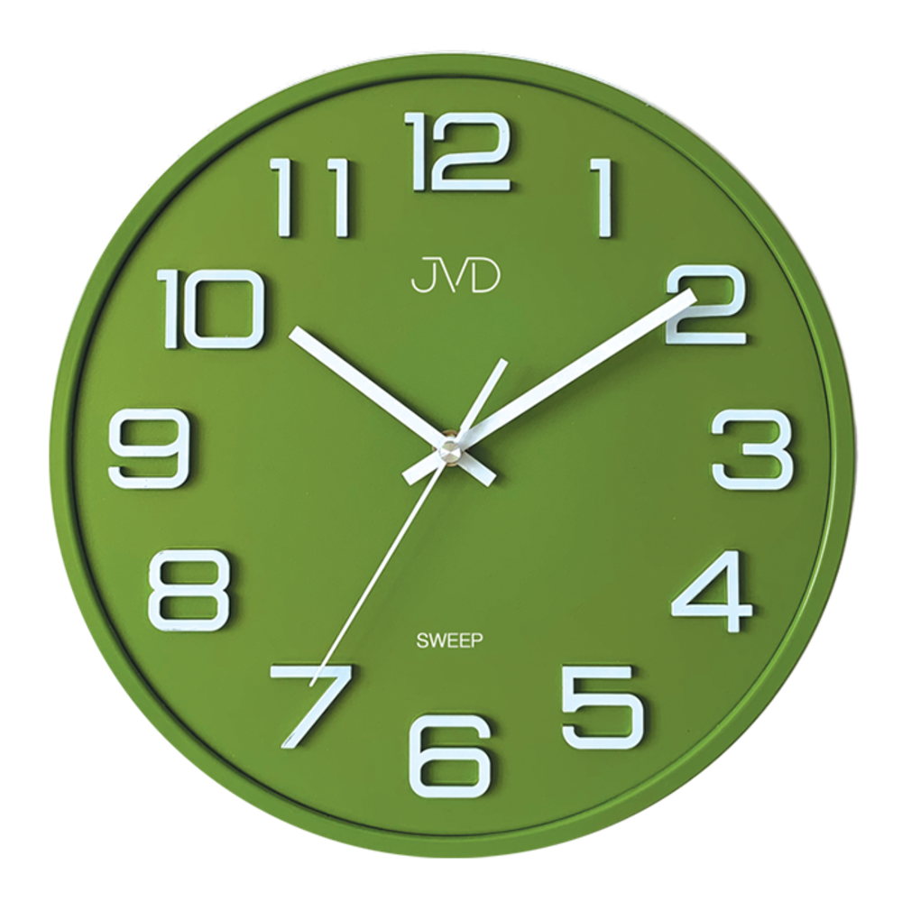 Hodiny JVD SWEEP zelené HX2472.2
