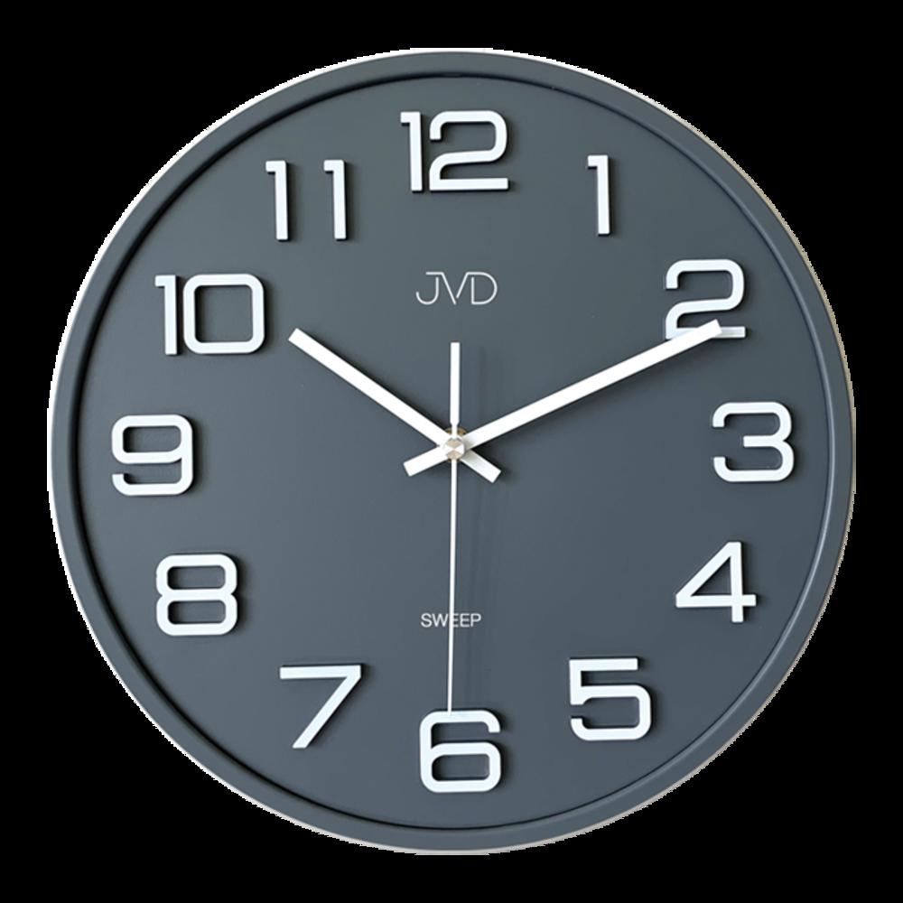 Hodiny JVD SWEEP šedé HX2472.1
