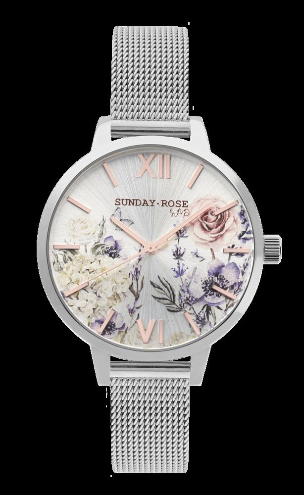 SUNDAY ROSE Dámské elegantní hodinky Fashion ANCIENT GARDEN SUN-F01