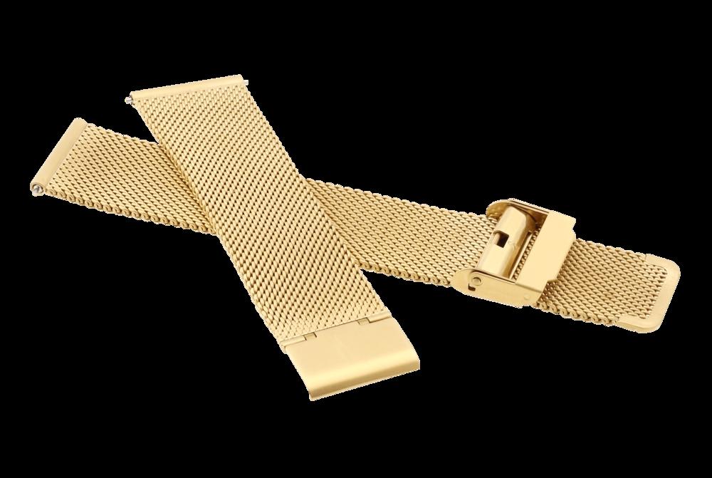 Řemínk Architect zlatý RAV-079