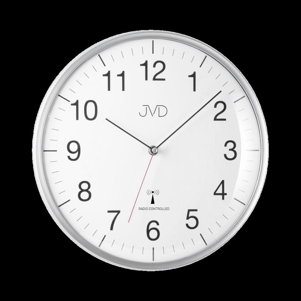 Rádiem řízene hodiny -stříbrné RH16.1