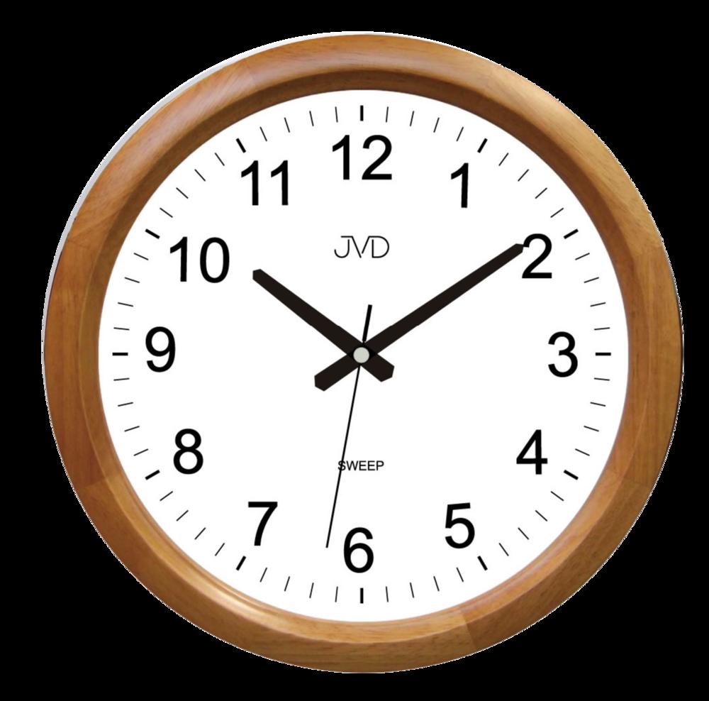 JVD Netikající tiché nástěnné hodiny JVD NS8017.3