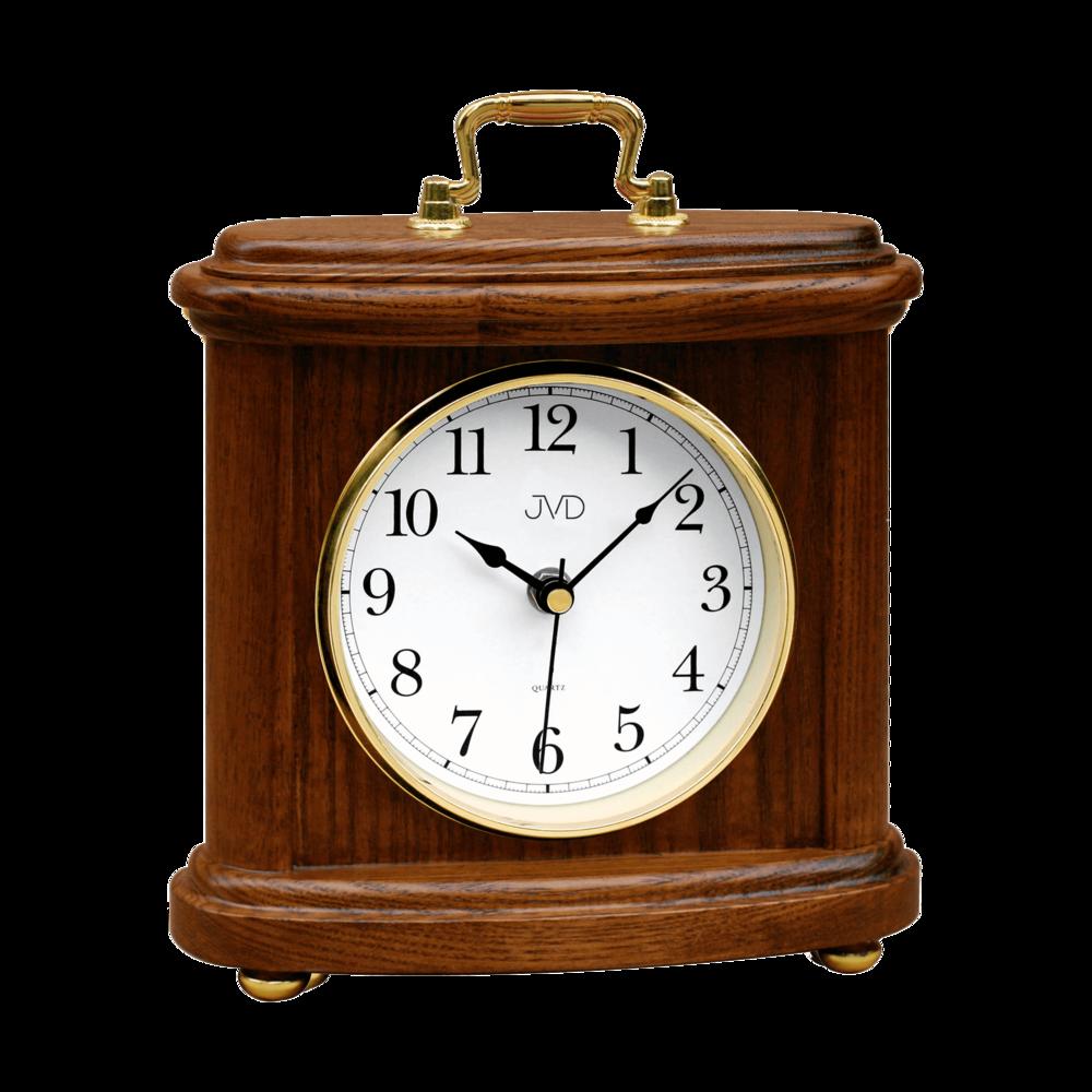 JVD Dřevěné stolní hodiny JVD HS17.1