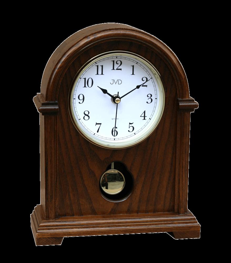 JVD Dřevěné stolní hodiny JVD HS13.1