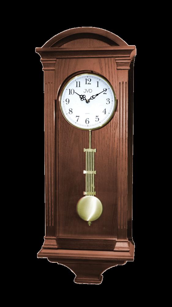 JVD Kyvadlové skříňové dřevěné melodické hodiny JVD quartz N9317.2