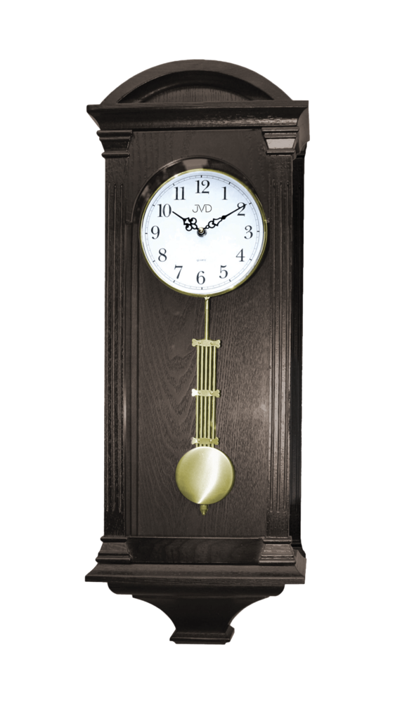 JVD Kyvadlové skříňové dřevěné melodické hodiny JVD N9317.1