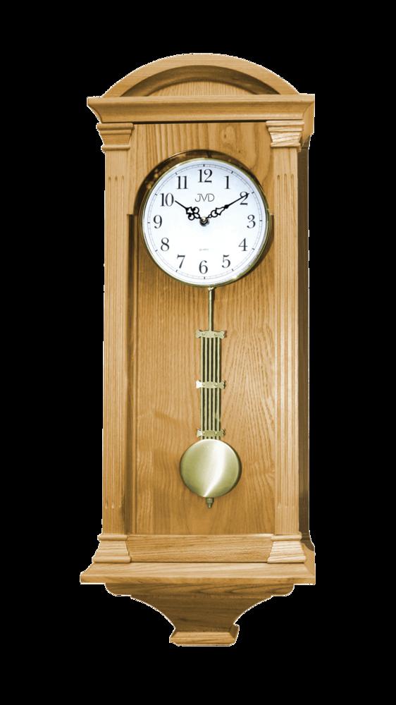 JVD Kyvadlové skříňové dřevěné melodické hodiny JVD quartz N9317.3