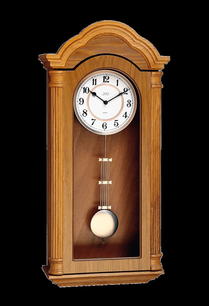 JVD Kyvadlové skříňové dřevěné melodické kyvadlové hodiny JVD N9353.2