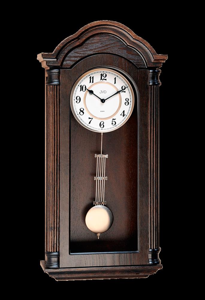 JVD Kyvadlové skříňové dřevěné melodické kyvadlové hodiny JVD N9353.1