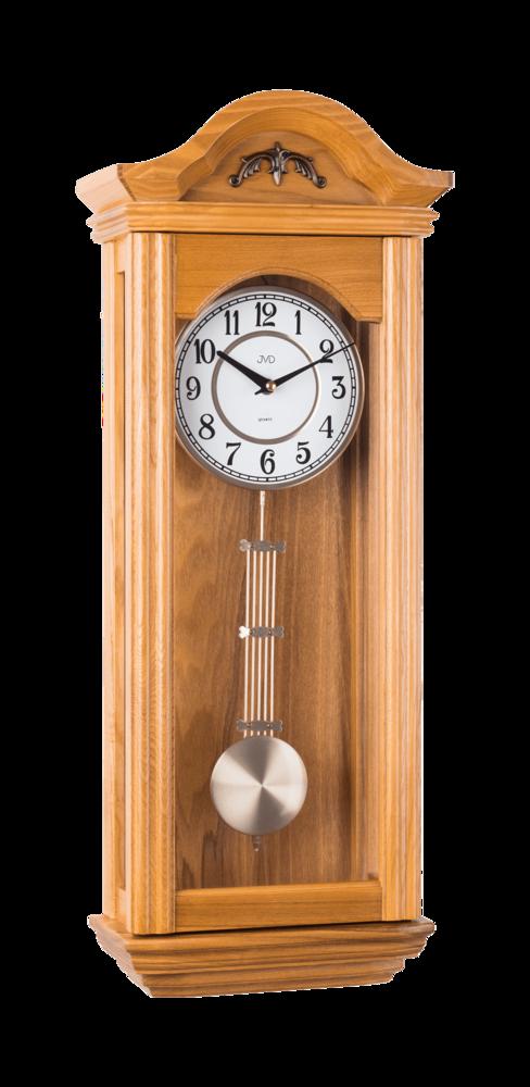 JVD Kyvadlové skříňové dřevěné melodické hodiny JVD N9360.1