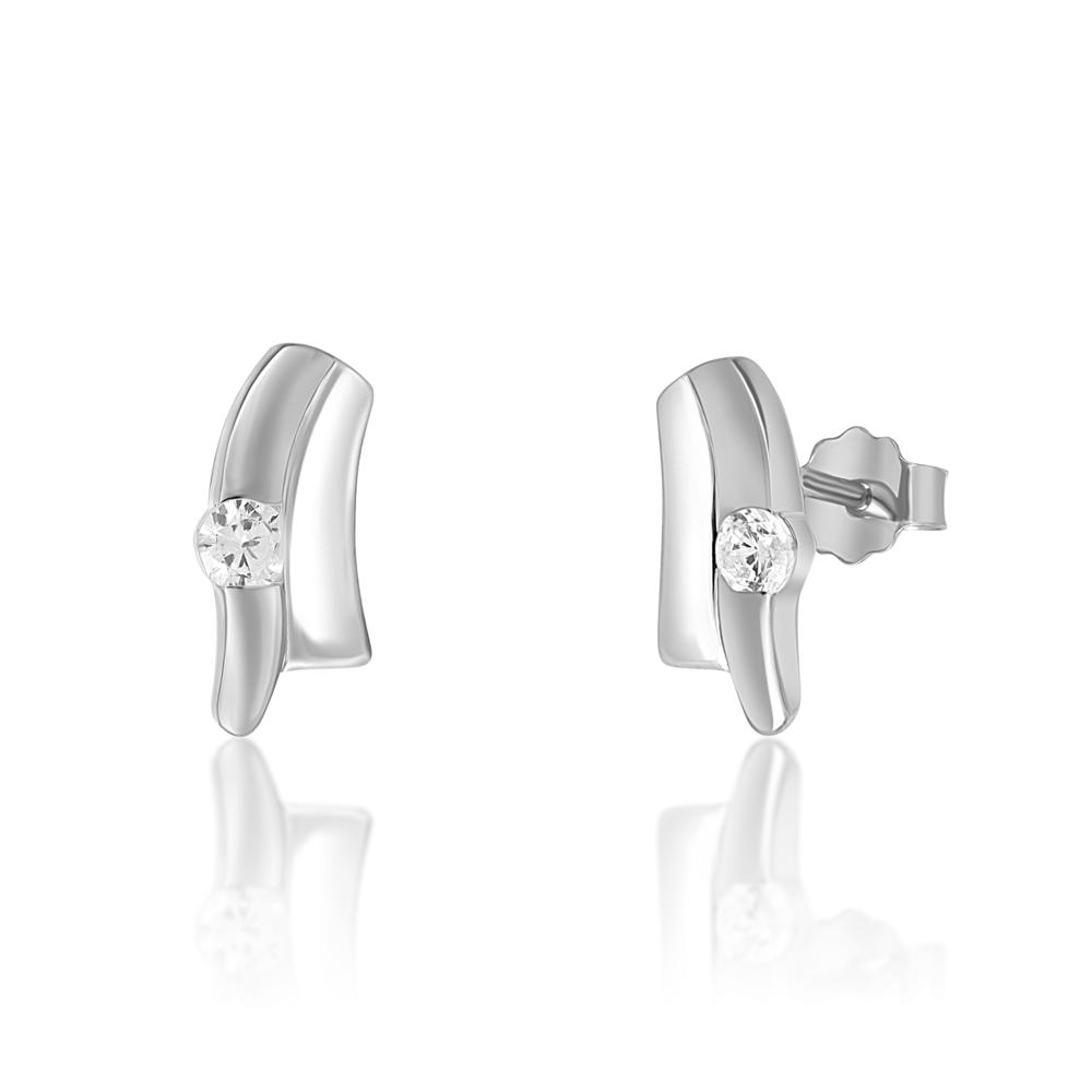 JVD stříbrné Náušnice SVLE0633XH2BI00