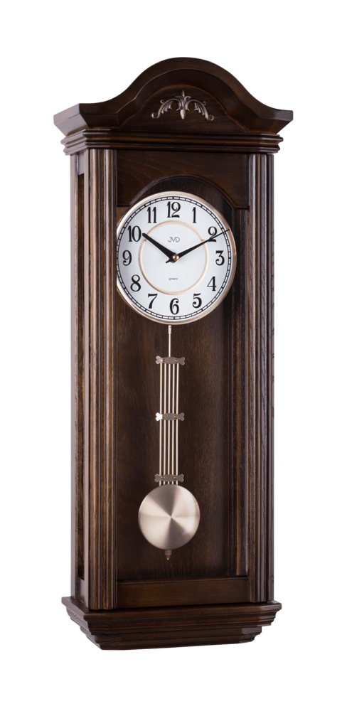 JVD Kyvadlové skříňové dřevěné melodické hodiny JVD N9360.3