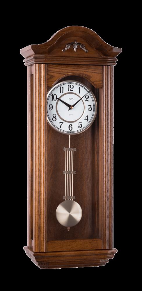 JVD Kyvadlové skříňové dřevěné melodické hodiny JVD N9360.2