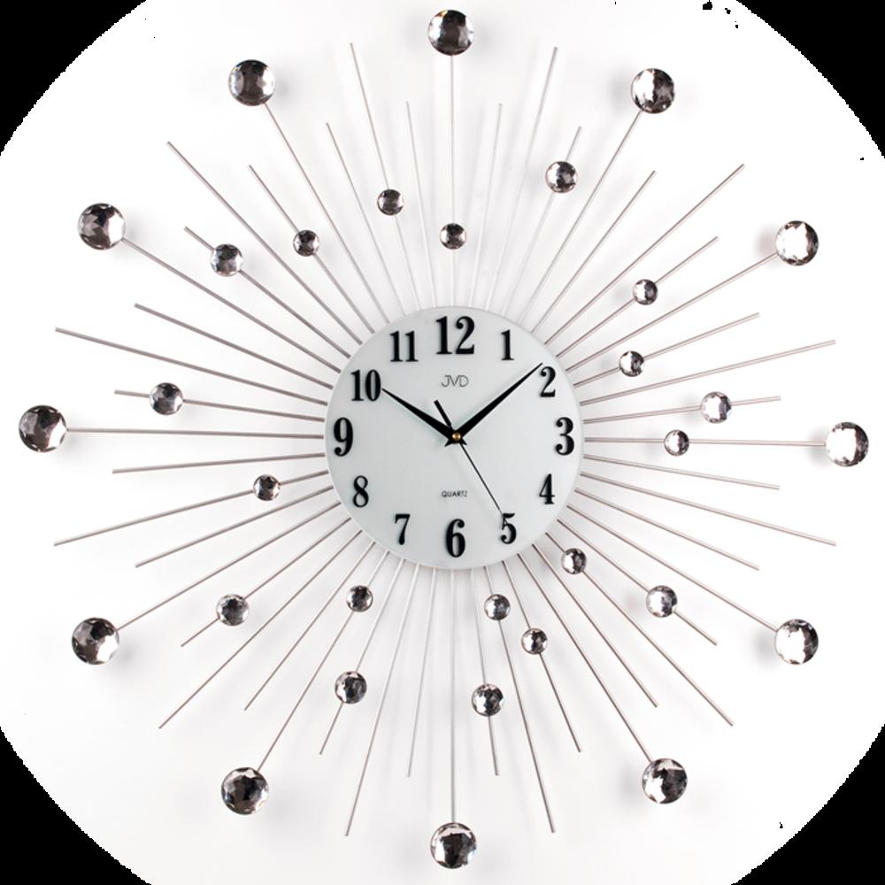 JVD Paprskovité designové velké nástěnné hodiny JVD HJ20