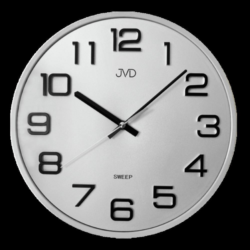 JVD Bílé nástěnné hodiny JVD HX2472.7