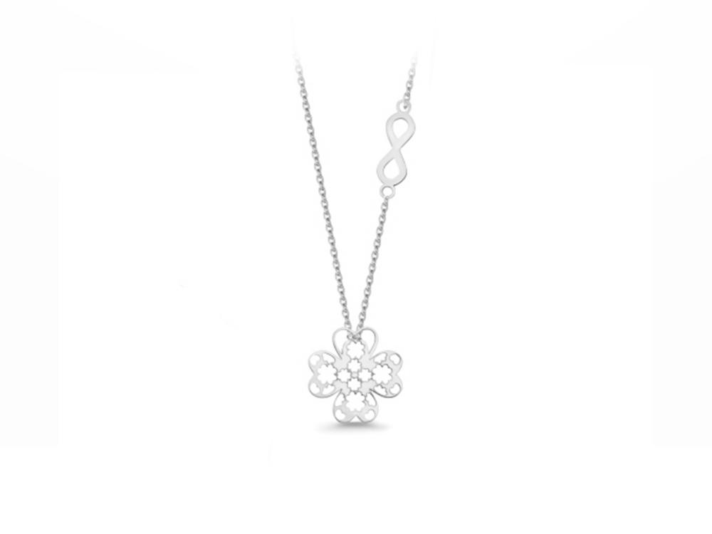 JVD Stříbrný náhrdelník SVLN0197SH20042