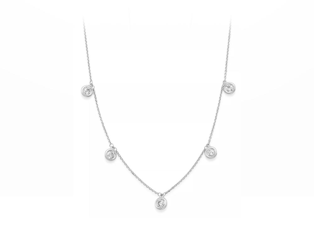 JVD Stříbrný náhrdelník SVLN0191XH2BI45