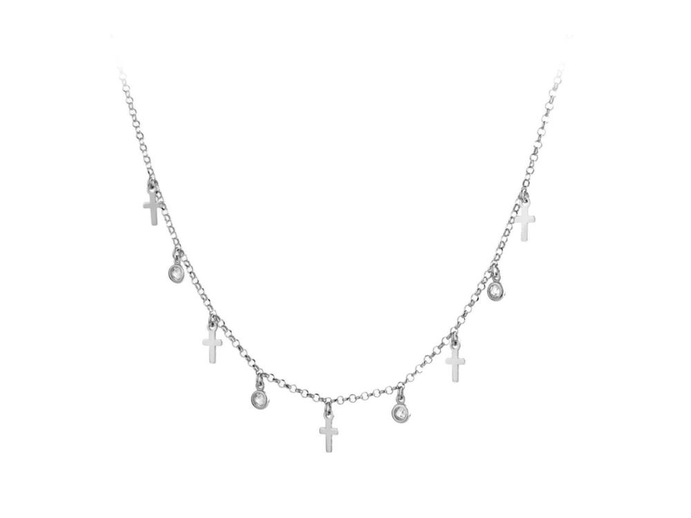 JVD Stříbrný náhrdelník SVLN0183XH2BI45