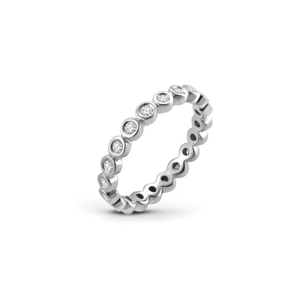 JVD stříbrný prsten 925/1000 SVLR0357XH2BI56
