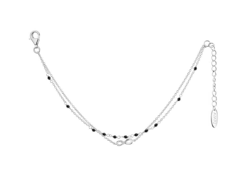 JVD stříbrný náhrdelník 925/1000 SVLN0185XH2ON45