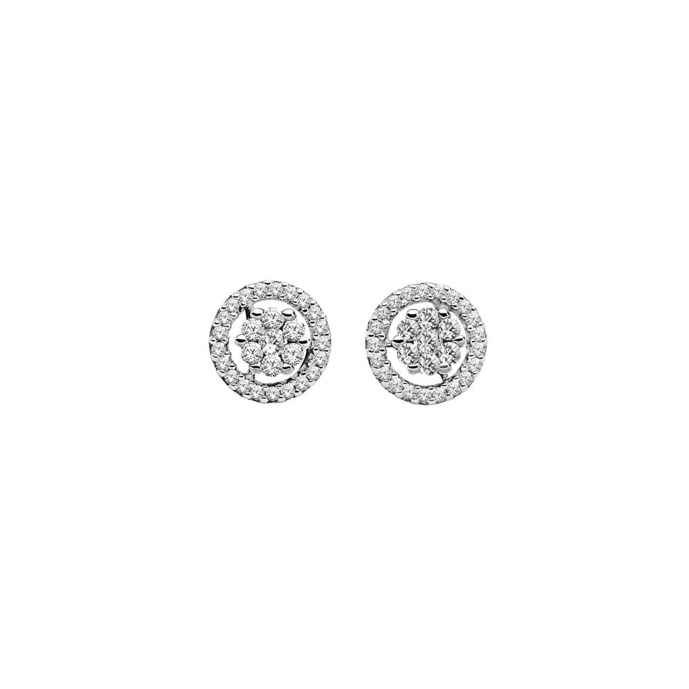 JVD stříbrné Náušnice SVLE0978XH2BI00