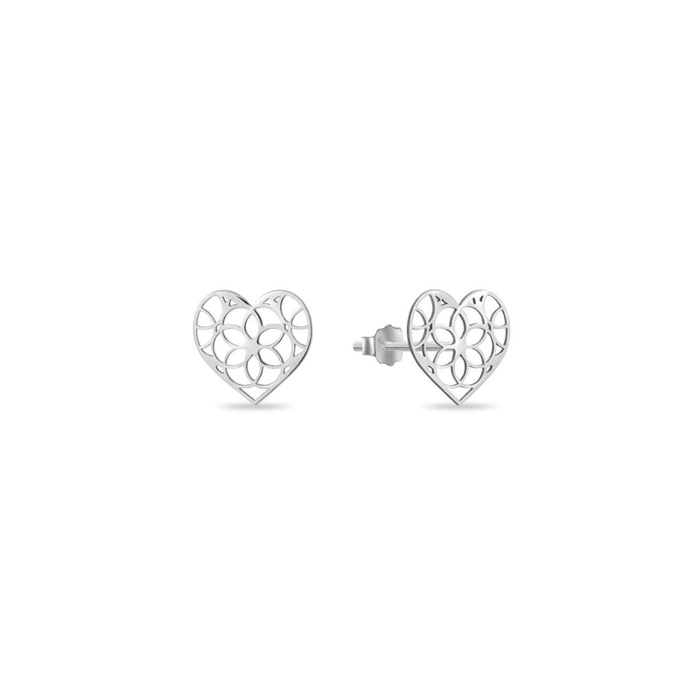 JVD stříbrné náušnice SVLE0971XH20000