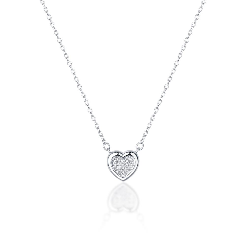 JVD stříbrný náhrdelník SVLN0403SH2BI45