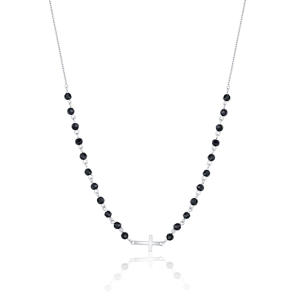 JVD stříbrný náhrdelník SVLN0184XH2ON42