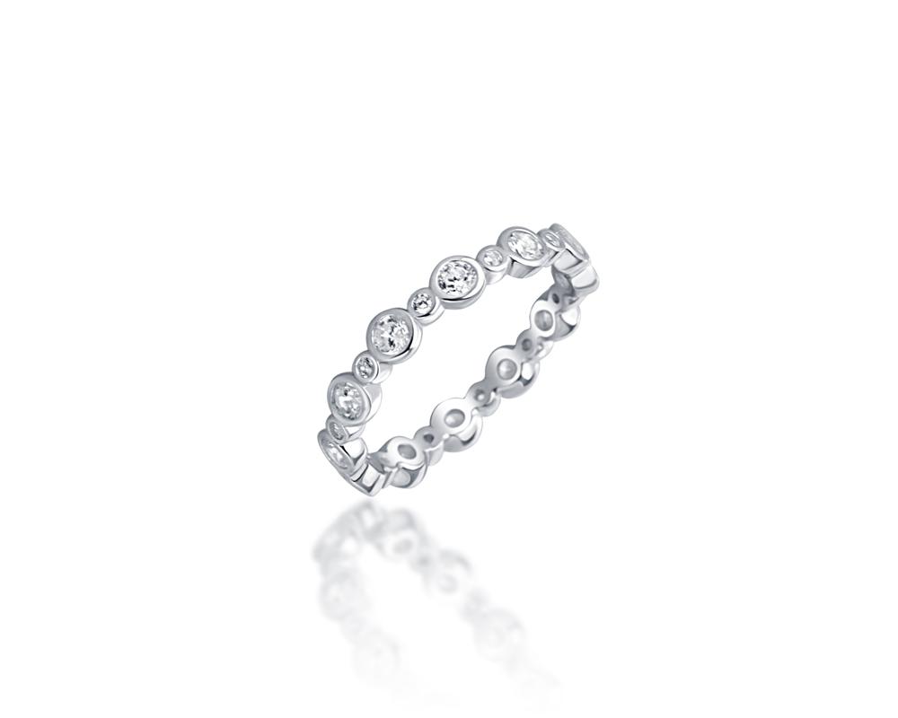 JVD Stříbrný prsten 925/1000 SVLR0359XH2BI60