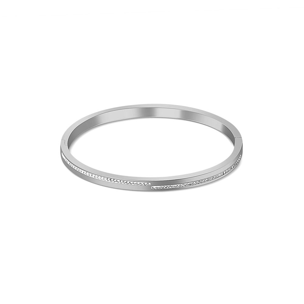 JVD ocelový pevný náramek SSSB0055XI8BI00