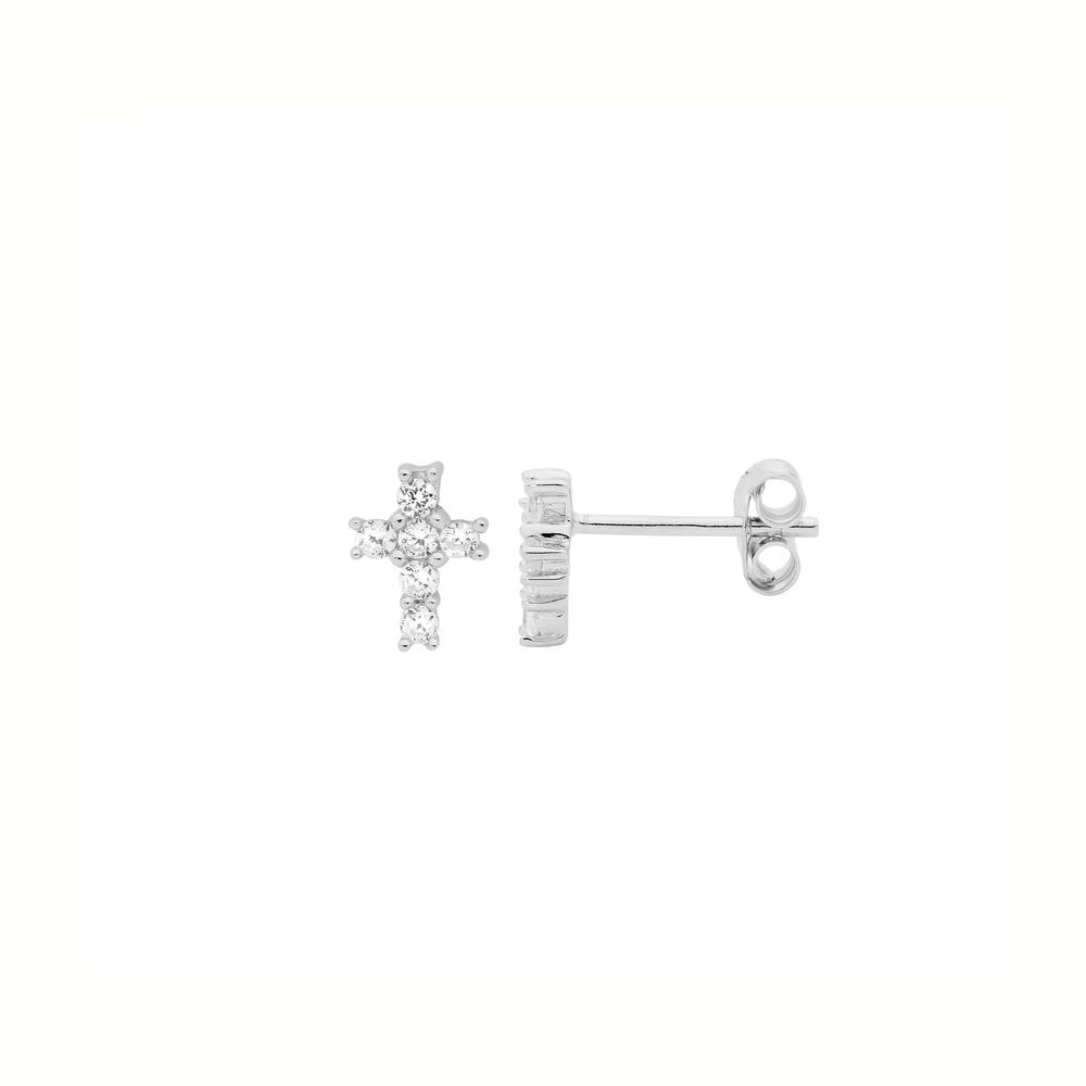 JVD stříbrné náušnice SVLE0984XH2BI00