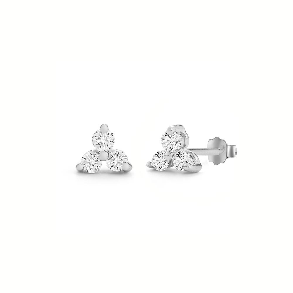 JVD stříbrné náušnice SVLE0983XH2BI00