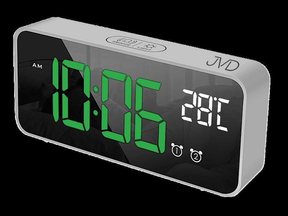 JVD Digitální budík do sítě se zelenými číslicemi JVD SB8005.1