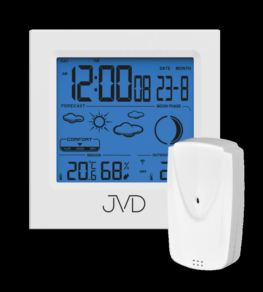 JVD Rádiem řízená meteorologická stanice JVD RB672.2