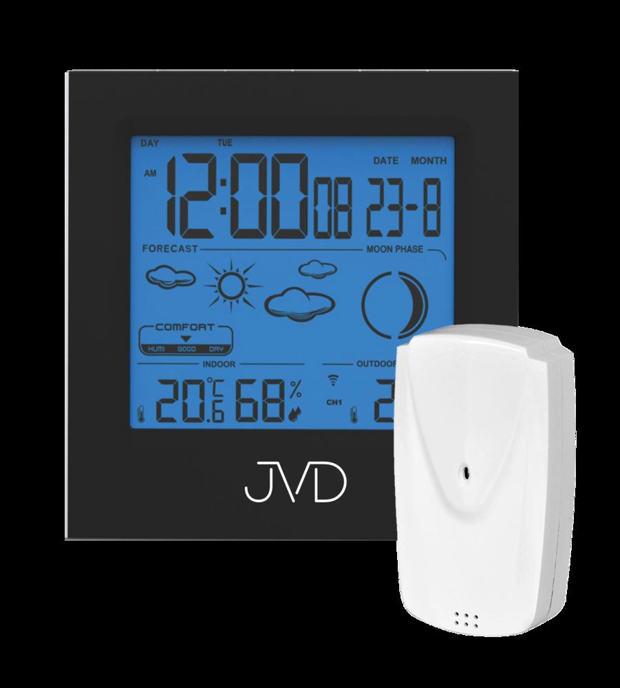 JVD Rádiem řízená meteorologická stanice JVD RB672.1